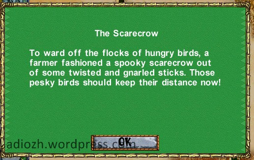 The Scarecrow description