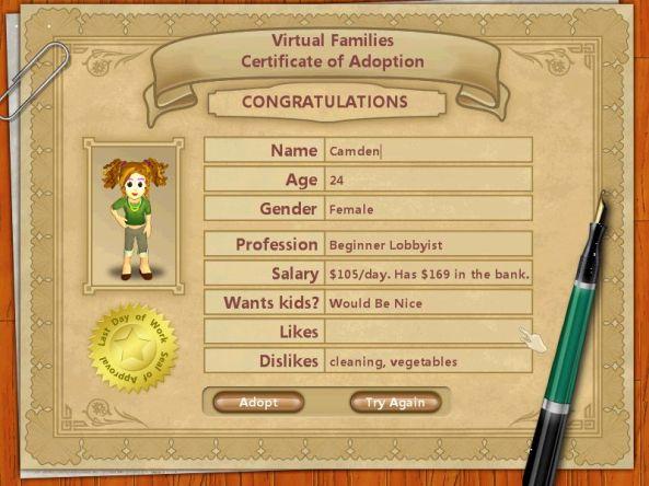 Virtual Families (1)